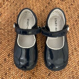 Patent start right shoes from London size 7UK